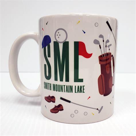 Smith mountain lake state park. Smith Mountain Lake Golf Mug   Print N Paper