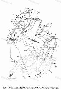 Yamaha Waverunner Parts 2017 Oem Parts Diagram For Engine Hatch 1