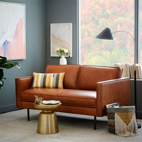 what colour goes with tan sofa style guide to leather sofas ideal home