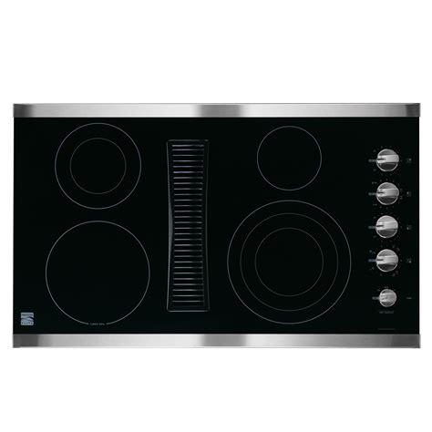 best downdraft cooktop kenmore elite 30 quot downdraft electric cooktop innovation