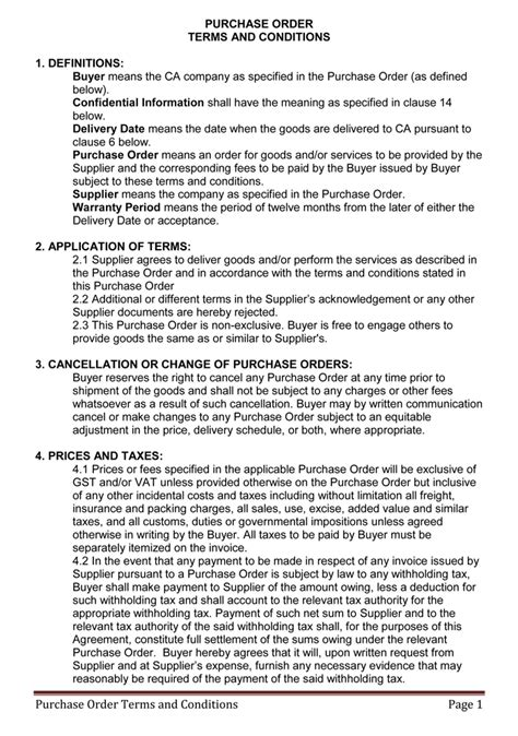 terms  conditions templates  write polices