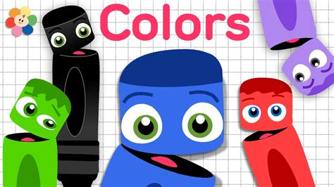 Coloring Crew by Learning Colors For Children The Color Black Color