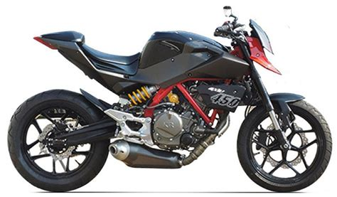 Hyosung 450 Appears. Funky. 50bhp, Lots Of Torque, Single