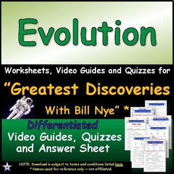 Bill Nye Evolution Worksheet Free Worksheets Library  Download And Print Worksheets  Free On
