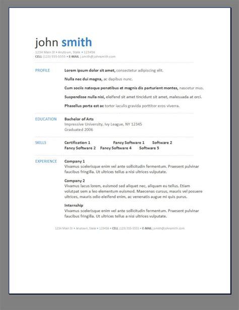 free resume templates create cv template scaffold