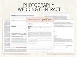 wedding photography contract wedding photography contract business forms flowers editable
