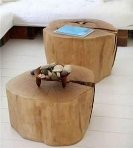 Arbre D Intérieur : d coration en bois 32 id es de r utiliser un tronc d 39 arbre ~ Preciouscoupons.com Idées de Décoration
