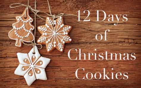 12 Days Of Christmas Cookies Series  Meghan Birt