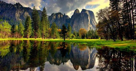 Yosemite 4k Green Nature Wallpaper Hd Wallpapers Hd