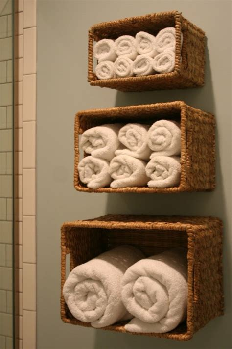 bathroom basket ideas hanging towel baskets for the bathroom home decor and ideas pint