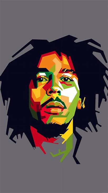 Marley Bob Illust Celebrity Reggae He07 Papers
