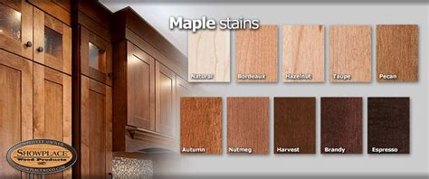 Kitchen Design Ideas - cabinet woods and finishes from showplace maple design ideas for your kitchen pinterest