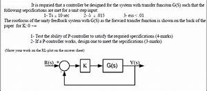 Control - Design A P-controller Given The Root Locus