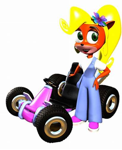 Crash Coco Racing Team Ctr Bandicoot Stand