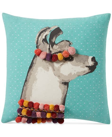 Pretty Llama 18? Square Decorative Pillow   Everything