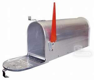 Boite Aux Lettres Americaine : boite aux lettres am ricaine aluminium argent ~ Dailycaller-alerts.com Idées de Décoration