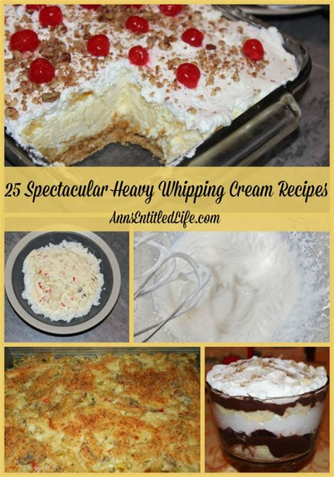 A wide variety of desserts using whipping cream options are available to you, such as material, application, and certification. 25 Spectacular Heavy Whipping Cream Recipes