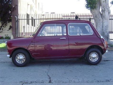 sell   classic austin morris  mini mark ii