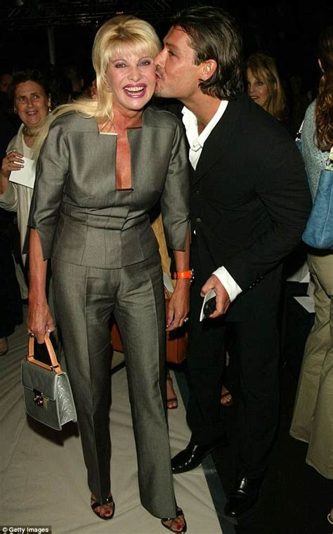 ivana trump husband rossano rubicondi italian riccardo mazzucchelli nairaland ex wearing 2002 pictured dating