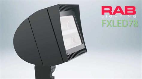 led light design rab led flood lights outdoor fixtures