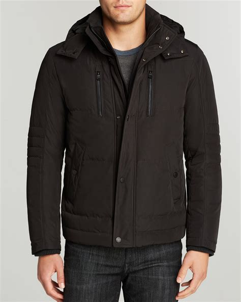 hugo boss jacket down quilted dery designer clothing