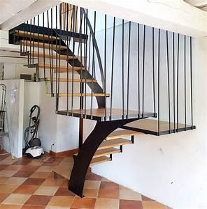 Escalier Bois Intérieur : escalier bois int rieur fashion designs ~ Premium-room.com Idées de Décoration