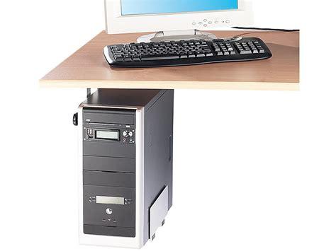 tour pour ordinateur de bureau support universel pour tour pc de bureau largeur réglable