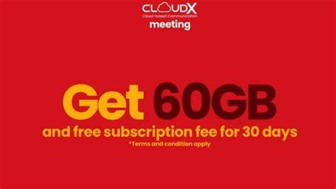 beli paket internet telkomsel kuota  gb cloudx