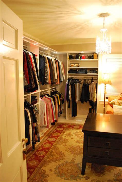 walk in closet lighting stunning s walk in closet with lighting traditional
