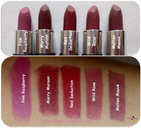 oriflame the one matte lipstick shades review and