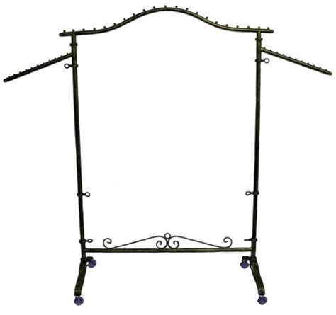Decorative Rolling Garment Racks by Display Garment Rack Decorative Clothing Rack Rolling