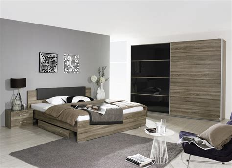 chambre d adulte moderne chambre adulte contemporaine chêne basalt maine