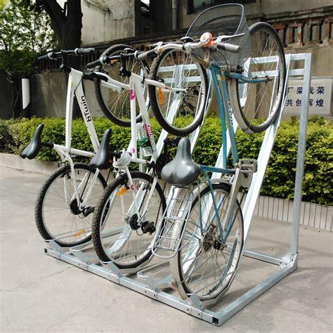 high quality semi vertical bike storage rack outdoor bike parking rack