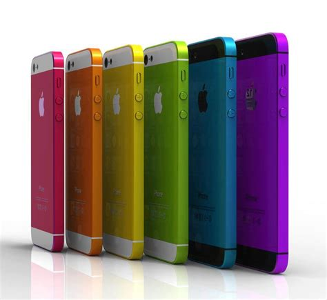 iphone colors iphone 5s release date set for july with multi colors and