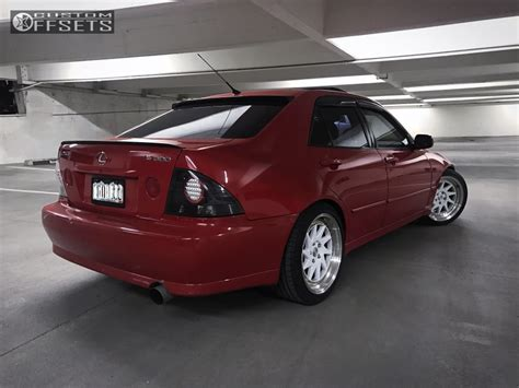 lexus is300 lowered wheel offset 2002 lexus is300 poke lowering springs