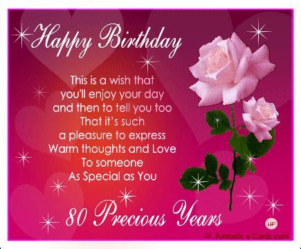 Happy 80th Birthday Mom Quotes