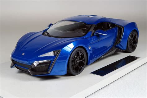 Top Marques Collectibles Lykan Hypersport, 1:18 blue | TOP30D