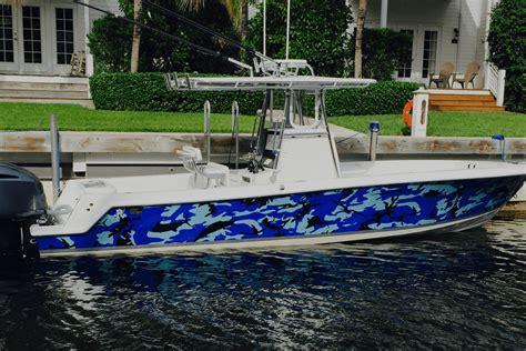 Bluewater Boats Daytona Beach Florida by Blue Water Boat Wrap Www Imagenesmy