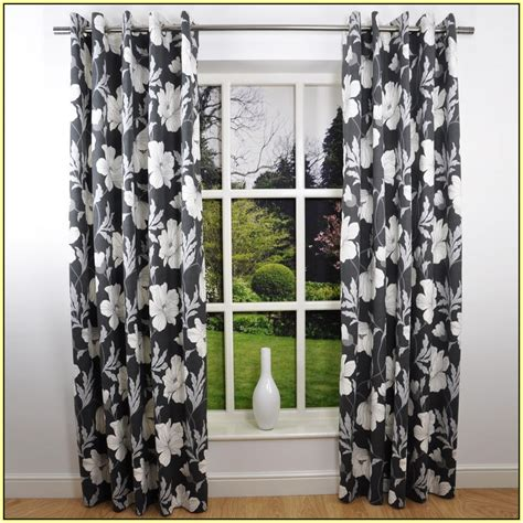 black and white curtain panels black and white pattern curtains gopelling net 7845