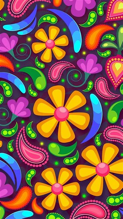 Iphone Colorful Flowers Wallpapers Background Ipad 5s