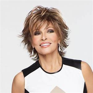 Short Hairstyles Women Over 50 Raquel Welch Wig | Short ...