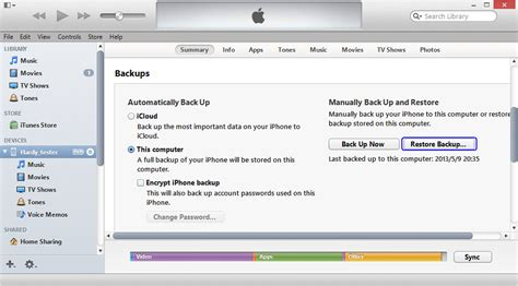 how to back up iphone to itunes 2 solutions to restore iphone from itunes backup