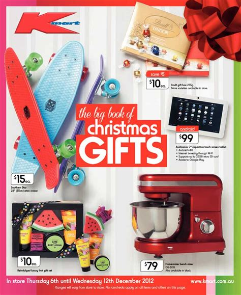 christmas ideas catalogues kmart catalogue greatest gift ideas for lowest prices