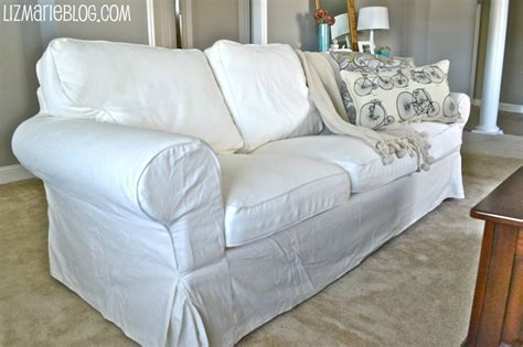 White Loveseat Slipcovers by New White Slipcover Ikea Couches