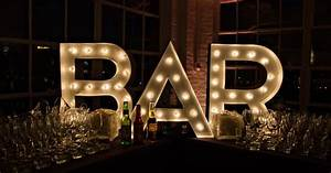 bar marquee sign diy wwwlifestyleeventgroupcom With bar letters with lights