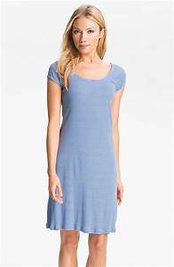 lauren by ralph lauren sleepwear stripe sleep shirt in With robe chemise ralph lauren