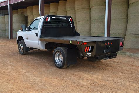 truck bed ss truck beds utility gooseneck steel frame cm