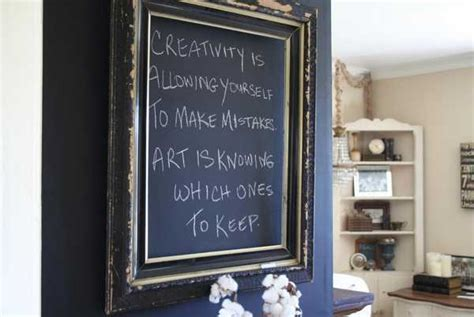 Creative Interior Decorating Ideas, 26 Black Chalkboard