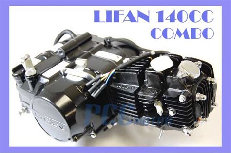 Lifan 140cc Engine Motor 4 Up Lf140-combo W/ Oil Cooler