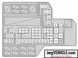 Toyota Sienna Iii Xl30 Fuse Box Diagrams  U0026 Schemes